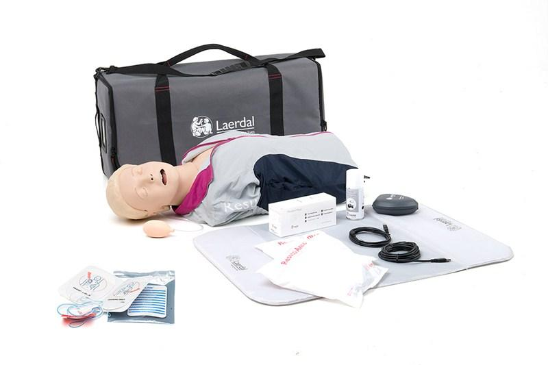 RB110-0582 AED modely: Resusci Anne QCPR AED torzo s intubační hlavou